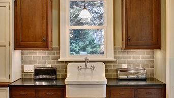 Warm Traditional - Farmhouse Sink