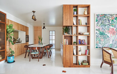 Mumbai Houzz: A Palette of White & Wood Works Wonders in This Flat