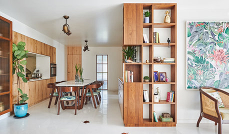 Houzz Tour: A Palette of White and Wood Freshens a City Flat