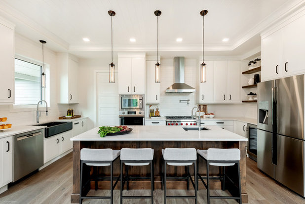 Transitional Kitchen by Redl World Class Kitchens