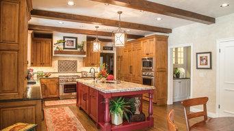 Warm Wood Tone Kitchen Remodel