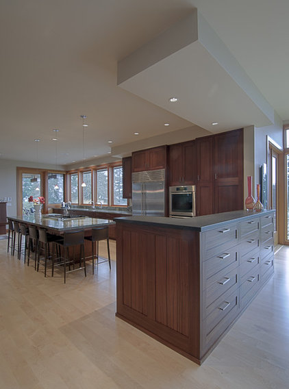 Contemporary Kitchen by J.A. Hand Construction, Inc.