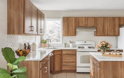 Kitchen of the Week: Refaced Cabinets Bring New Style and Warmth