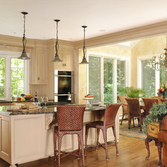 traditional kitchen by Haddad Hakansson LLC