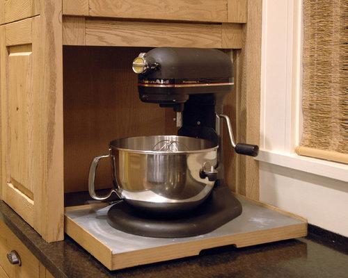 Kitchenaid Mixer Storage Home Design Ideas Pictures