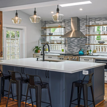 Warmly Inviting - Bright kitchen with skylights