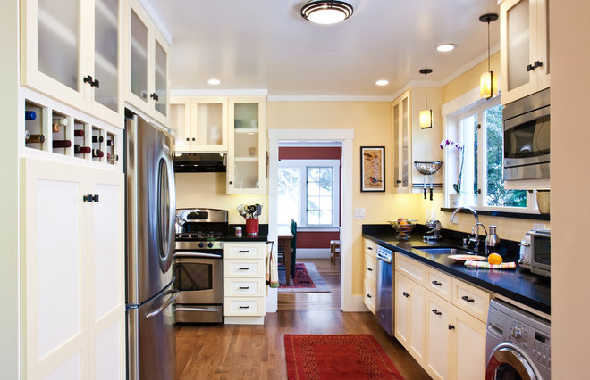 Eclectic Kitchen by Cameron C. Habel Construction, Inc.