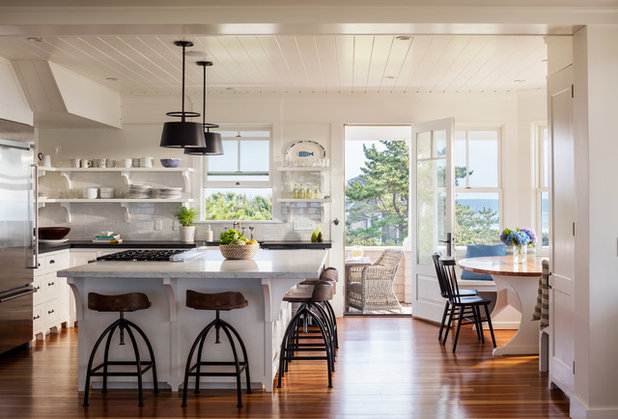 Beach Style Kitchen by DiMauro Architects, Inc.