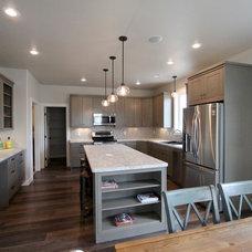 Farmhouse Kitchen by Vance Vetter Homes