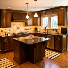Traditional Kitchen by Fine Cabinetry LLC