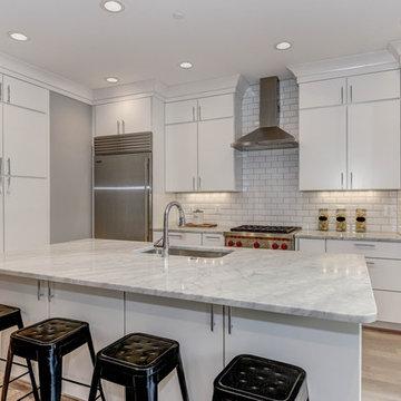 Washington D.C. Full Kitchen & Bath Remodel - Urban