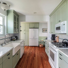 Traditional Kitchen by EnviroHomeDesign LLC