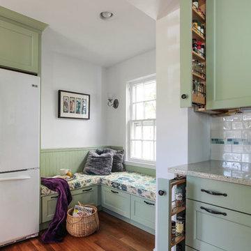 Washington D.C. - Green Transitional Kitchen