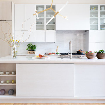 Washington DC - Mid Century Modern with a Contemporary Flare - Kitchen