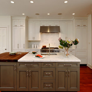 Grey Brown Kitchen Ideas & Photos | Houzz on cream kitchen, blue kitchen, red kitchen, dark gray kitchen, purple kitchen, white kitchen, green kitchen, black kitchen, pink kitchen, yellow kitchen,