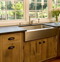 contemporary kitchen by Village Handcrafted Cabinetry