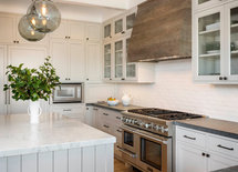 Are the surrounding countertops soapstone? Thanks