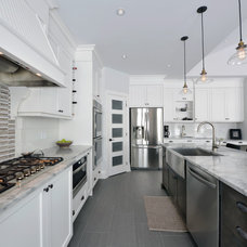Contemporary Kitchen by Heather Stevens