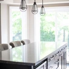 Transitional Kitchen by Ridgeway Kitchens & Design Ltd.