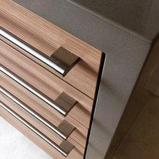 Contemporary Kitchen by Moss Yaw Design studio