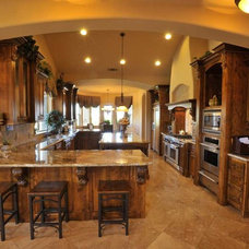 Traditional Kitchen by CrosbyHomeDesign.Com
