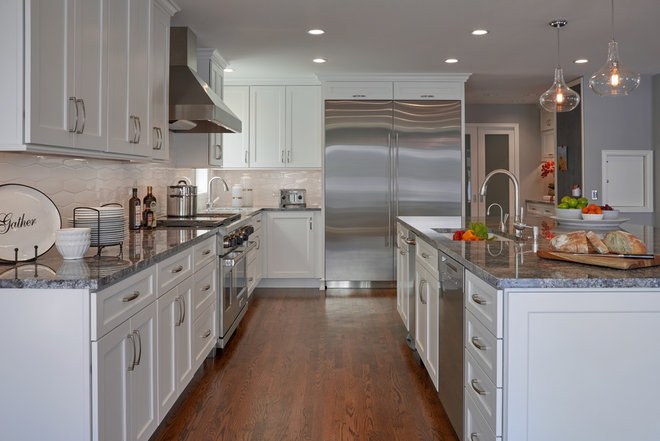 Craftsman Kitchen by Potter Construction Inc