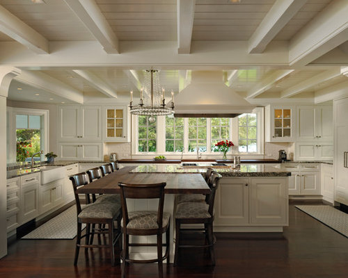Waterfront Home Kitchen Design Waterfront Kitchen Home Design Ideas  Pictures Remodel