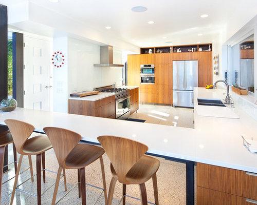 Best Mid Century Kitchen Design Ideas & Remodel Pictures | Houzz