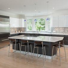 Contemporary Kitchen by Daniel Conlon Architects