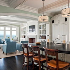 Traditional Kitchen by Robert A. Cardello Architects