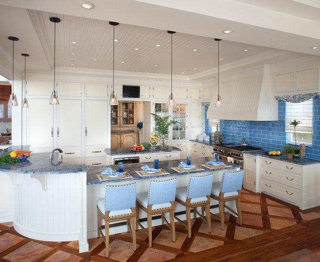 Beach Style Kitchen by Bruce Palmer Coastal Design