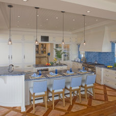 Beach Style Kitchen by Bruce Palmer Interior Design