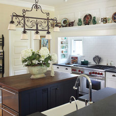Traditional Kitchen by Todd Richesin Interiors