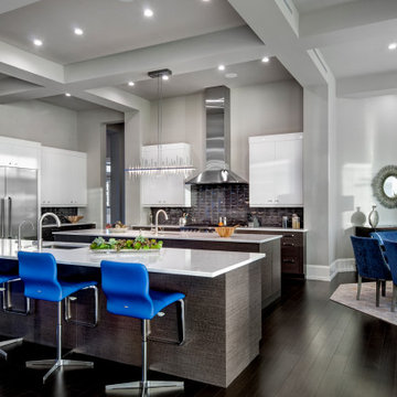 Waters Edge Modern Kitchen and Dining