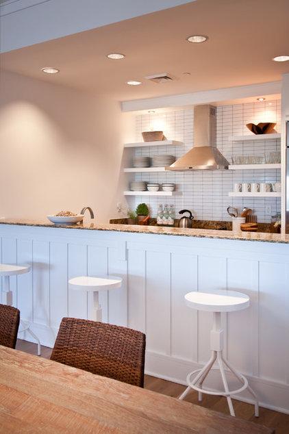 Beach Style Kitchen by Notre Maison Design Group Inc
