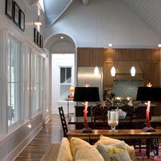 Beach Style Kitchen by Daniel M Martin, Architect LLC