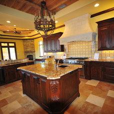 Mediterranean Kitchen by Jonn Spradlin Design LLC