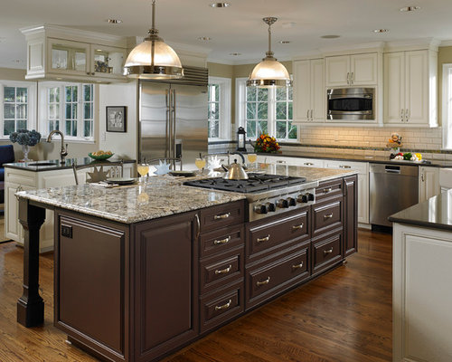 granite countertop kitchen island houzz blue kitchen island houzz