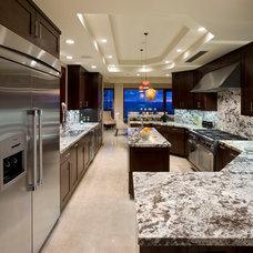 Contemporary Kitchen by Kollin Altomare Architects