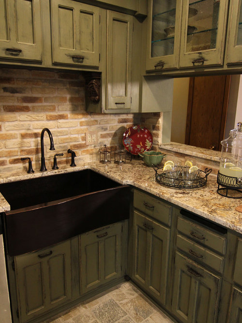 Kitchen design ideas renovations photos with green for Style kitchen nashville reviews