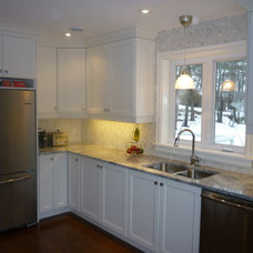 Traditional Kitchen by Halifax Tile Company
