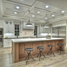 Traditional Kitchen by Brandon Architects, Inc.
