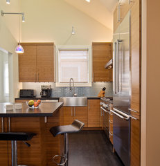modern kitchen by Rossington Architecture