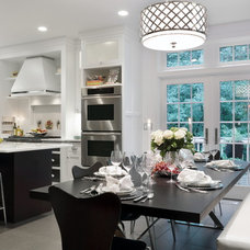 Transitional Kitchen by Annika Designs
