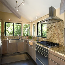 Contemporary Kitchen by Ultimate Stone, Inc