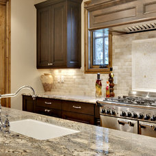 Traditional Kitchen by Ultimate Stone, Inc