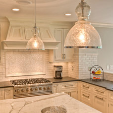 Traditional Kitchen by Fordham Marble Company Inc.