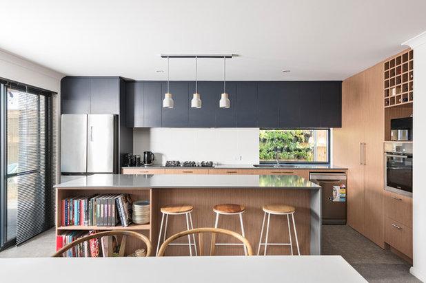 Beach Style Kitchen by Mikasa Designs