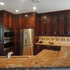 Traditional Kitchen by Legal Eagle Contractors