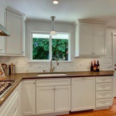 Kitchen by Blue Sound Construction, Inc.